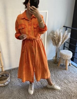 orange tiedye